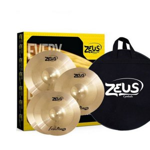 Kit De Pratos Zeus Evolution Pro Set C 14/16/20