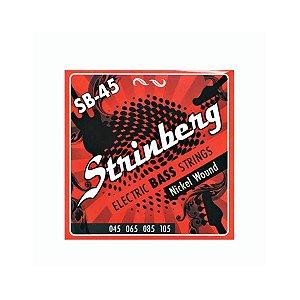 Encordoamento Strinberg Baixo SB-45 4 Cordas 045