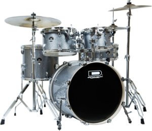 Bateria D One Street DS20SL Silver Prata Bumbo 20