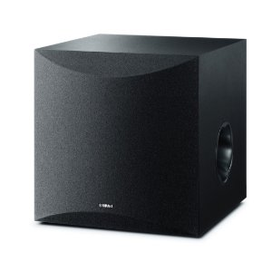 Subwoofer Home Theater Yamaha NS-SW100BL Preta