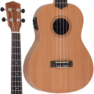 Ukulele Strinberg UK-06BE MGS Baritono Fosco Eletrico