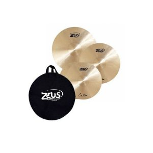 Kit De Pratos Zeus Custom Set C 14/16/20