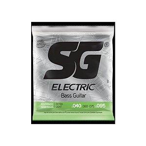 Encordoamento SG Baixo 040 SG5107 4 Cordas Niquel