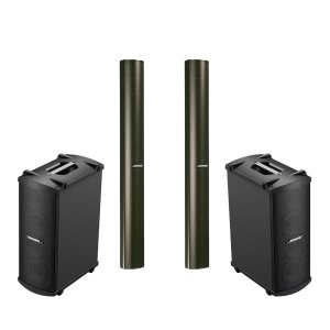 Kit Bose Panaray 2 Subs Mb4 + 2 Caixas Ma12 Passiva