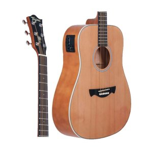 Violao Tagima Woodstock TW-25 NS Folk Eletrico Natural Satin