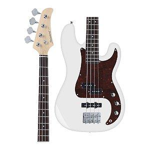 Baixo Strinberg PBS-40 WH Precision Bass Branco 4 Cordas Passivo Branco