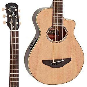Violão Yamaha ApxT2 Nt Aço Baby Elétrico Natural c/ capa
