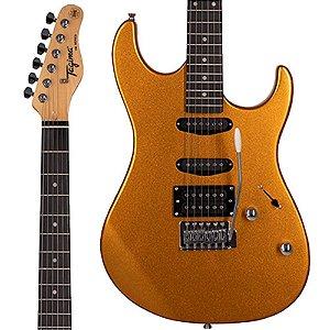 Guitarra Tagima Stratocaster Woodstock TG-510 MGY Dourada TG510