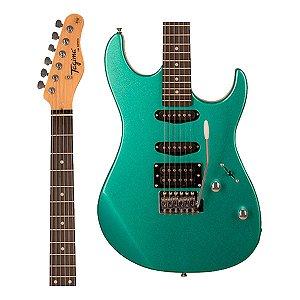 Guitarra Tagima Stratocaster Tg-510 Msg Verde Metalico Tg510