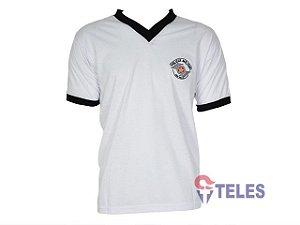 Camiseta Malha Fria Gola em V PMESP C/ QRA