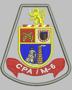 BRASÃO CPA/M-6 - Comando de Policiamento de Área Região Seis - RMSP - sub-região Sudeste (ABCDM)