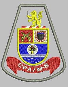 BRASÃO CPA/M-8 - Comando de Policiamento de Área Região Oito - RMSP - sub-região Oeste e sub-região Sudoeste