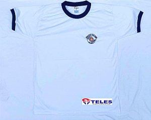 Camiseta Gola Careca Padrão AL Barro Branco