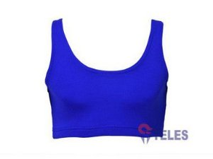 TOP FEM  LYCRA AZUL ROYAL