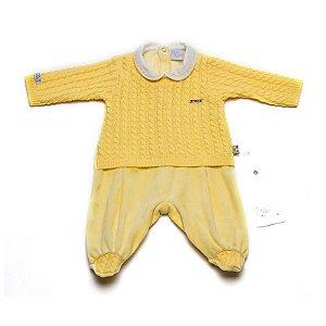 Kit saída de maternidade tricot e plush - Beth Bebê