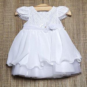 Vestido bebê Elisa - Beth Bebê