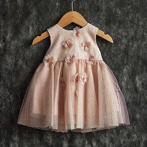 Vestido bebê Emanuelly - Beth Bebê