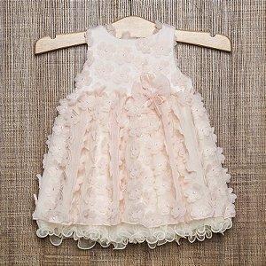 Vestido bebê Bianca - Beth Bebê
