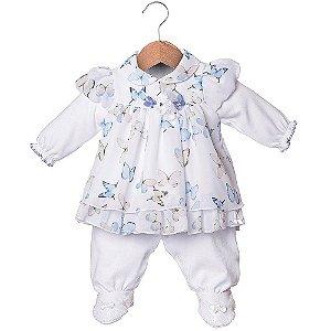 Vestido e macacão Rafaela - Beth Bebê