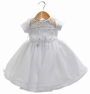 Vestido bebê Maria Alice - Beth Bebê