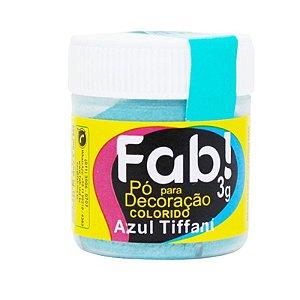 PÓ AZUL TIFFANI PARA DECORAÇÃO EM CONFEITARIA  3G FAB