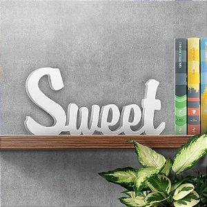 Palavra Decorativa Sweet