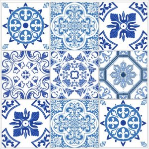 "Adesivo Azulejo ""Bragança"""
