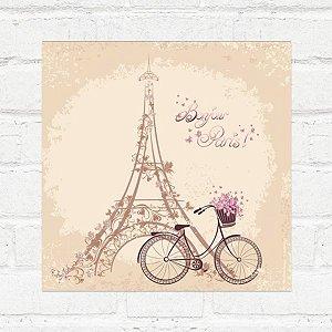 Placa Decorativa Tour Eiffel