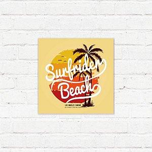 """Placa Decorativa """"Surfrider"""""""