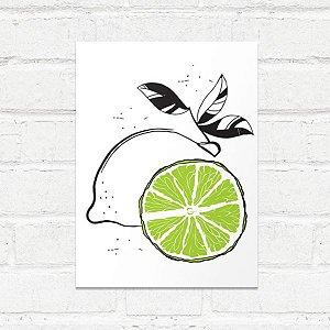 Placa Decorativa Limão