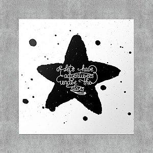 Placa Decorativa Star