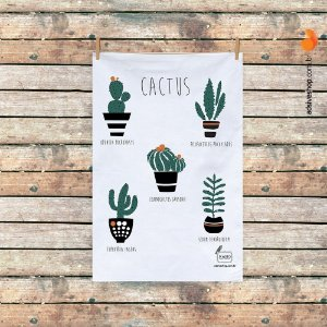 "Pano de Prato ""Cactus II"""