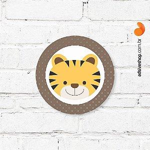 "Placa Decorativa ""Tigre"""