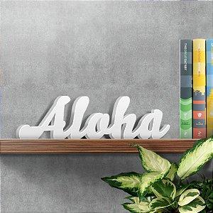 Palavra Decorativa Aloha