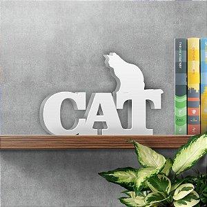 Palavra Decorativa Cat