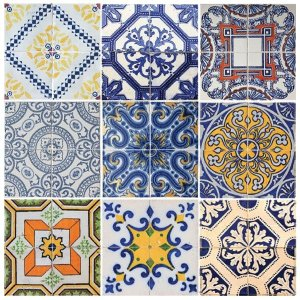 "Adesivo Azulejo ""Florença"""