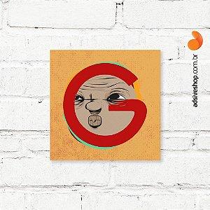 """Placa Decorativa """"Letra G"""""""