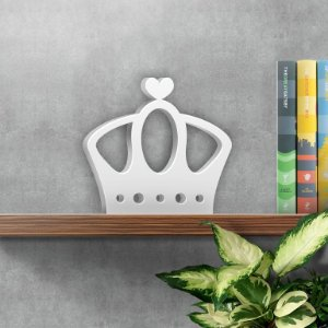 Símbolo Decorativo Coroa Rainha