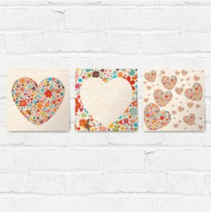Placas Decorativas True Love