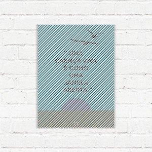 "Placa Decorativa ""Janela Aberta"""