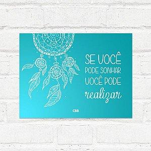Placa Decorativa Filtro dos Sonhos CBB