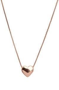 colar coração - heart necklace