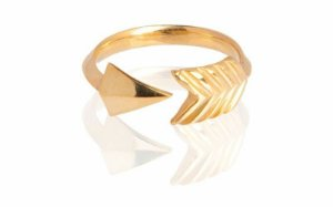 Anel Flecha - Arrow Ring