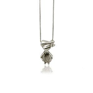 colar menina com gravação de nome - girl necklace with name engraving