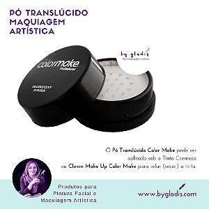 Pó Translúcido para Maquiagem Artística Facial e Corporal Color Make 15 gr