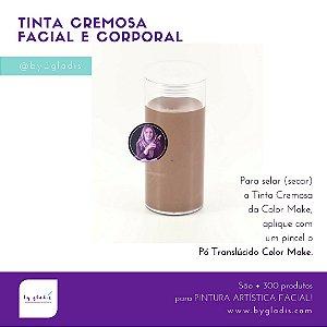 Tubo Tinta Cremosa Facial e Corporal Cremosa Maquiagem Artística Color Make 20 gr | Cor da Pele
