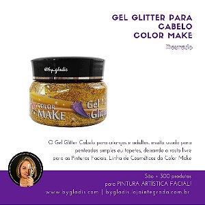 Gel Glitter para Cabelo Color Make 150 GR