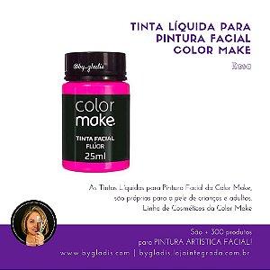 Tinta Líquida Pintura Facial e Corporal Color Make 25 ML