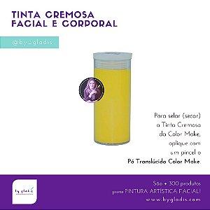 Tubo Tinta Cremosa Facial e Corporal Cremosa Maquiagem Artística Color Make 20 gr