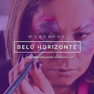 Workshop de Pintura Facial Iniciante e Avançado em Belo Horizonte